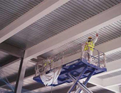 تأمین مقاومت پوشش ضد حریق سازه های فلزی