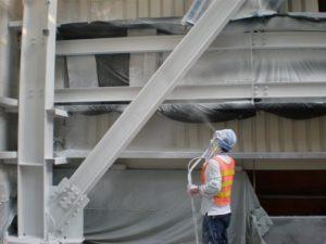 اجرای پوشش ضد حریق ساختمانی