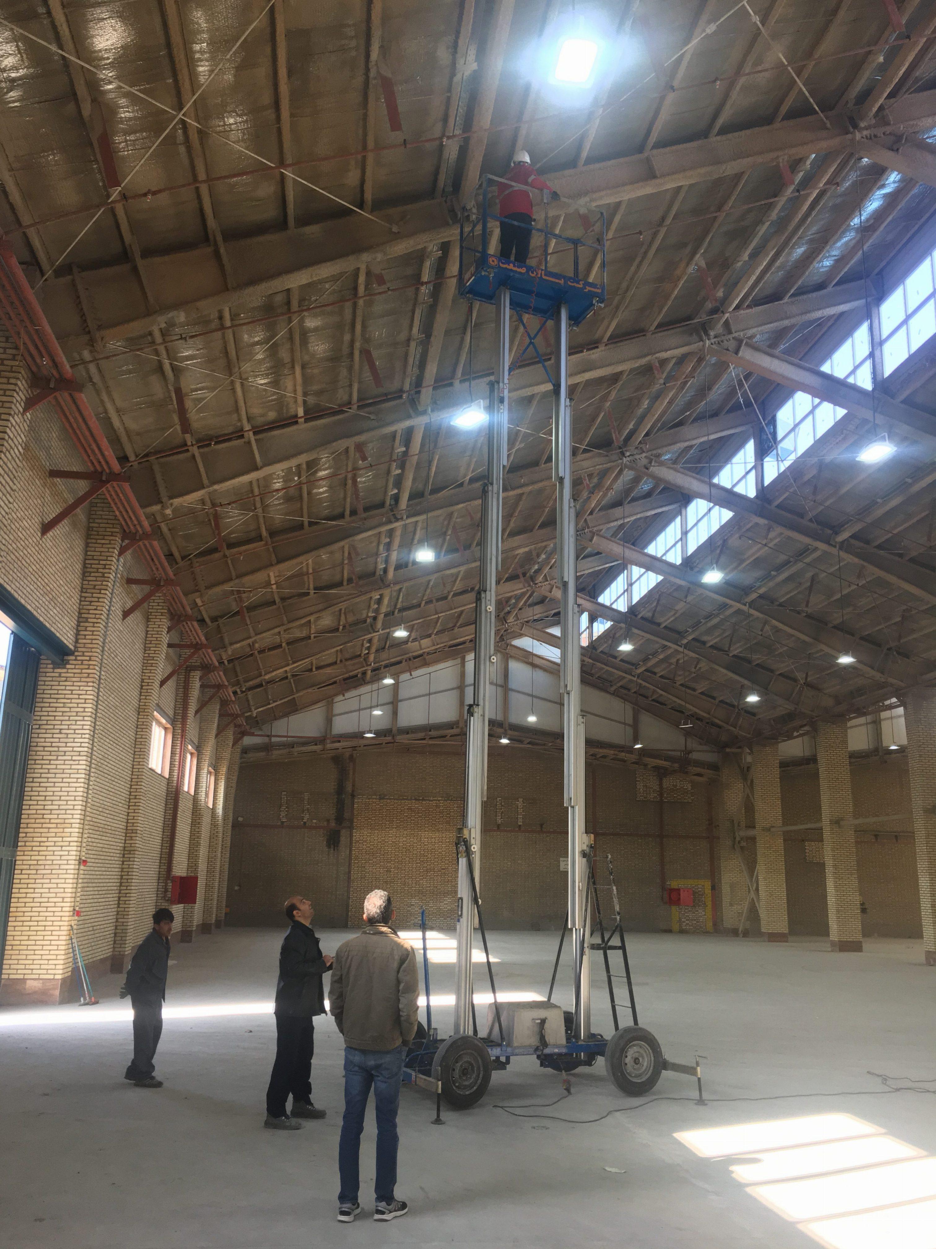پوشش ضد حریق ساختمان و اجرای آن روی اسکلت فلزی